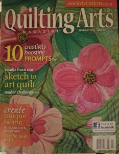 Quilting Arts Cover